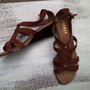 Ralph Lauren suede sandals